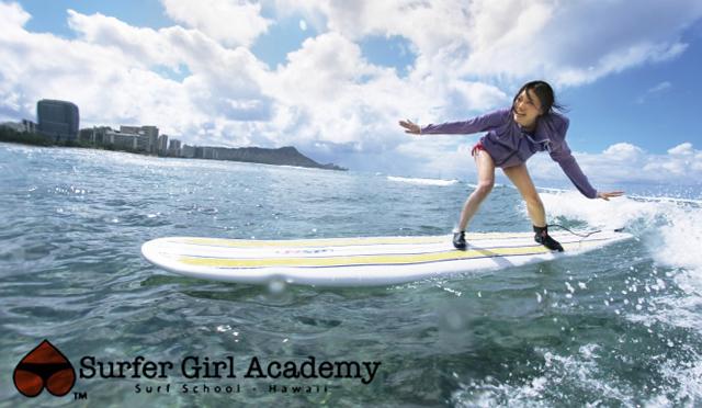カリスマに教わる<br />サーフィン体験