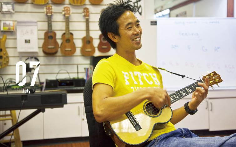 20分で一曲マスターできる無料ウクレレ教室!<br>J.シマブクロの弟が先生です!