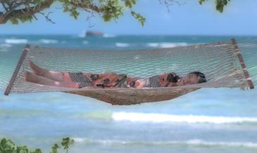武井咲さんがCMで気持ちよさそうに<br />昼寝していたビーチはココ!