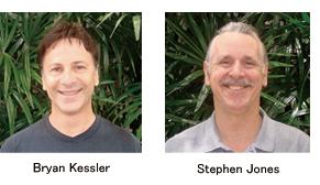 ブライアン・ケスラーさんとスティーブン・ジョーンズさん