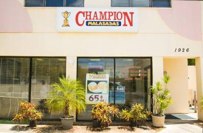 CHAMPION MALASADAS
