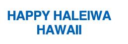 HAPPY HALIWA エコトートバッグ