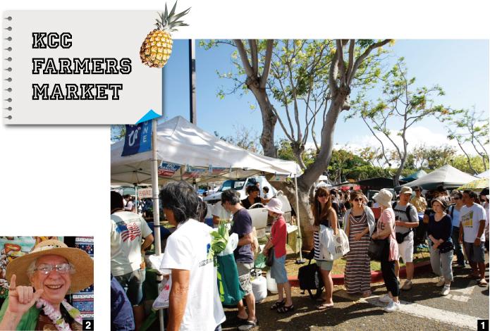 KCC FARMERS MARKET | 1.KCCファーマーズマーケットで、最大の行列を誇るのがアバロニ(アワビ)の屋台| 2.レモネードを販売している名物おばあちゃん
