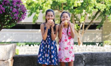 ハワイ版肉まん「マナプア」<br />焼きor蒸し? どっちがお好み?