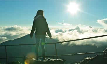 マウイ島のヒーリングスポット「ハレアカラ」<br />山頂でパワーをチャージ!