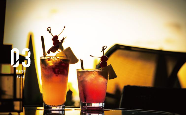 夕陽を見ながら誰を口説く!? ホテルビーチバー総力取材 vol.1<br />「ビーチ・バー」@モアナ・サーフライダー