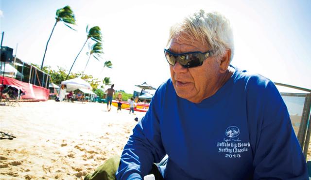 レジェンドサーファー・バッファローの海への想いBuffalo's Big Board Surfing Classic 2013レポート