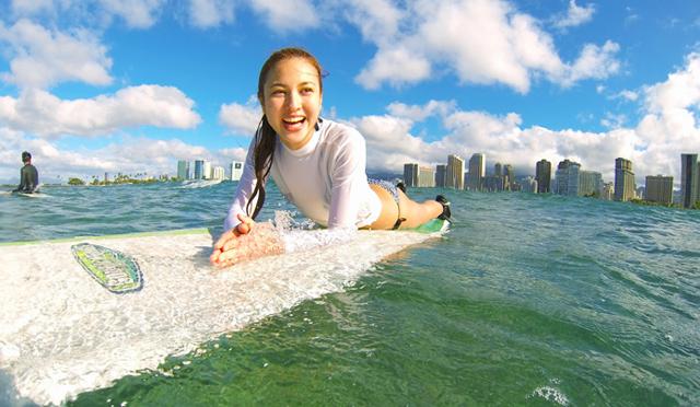 サーフィン歴40年ロイさんのサーフレッスン