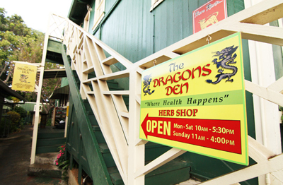 The Dragon's Den Herb Shop