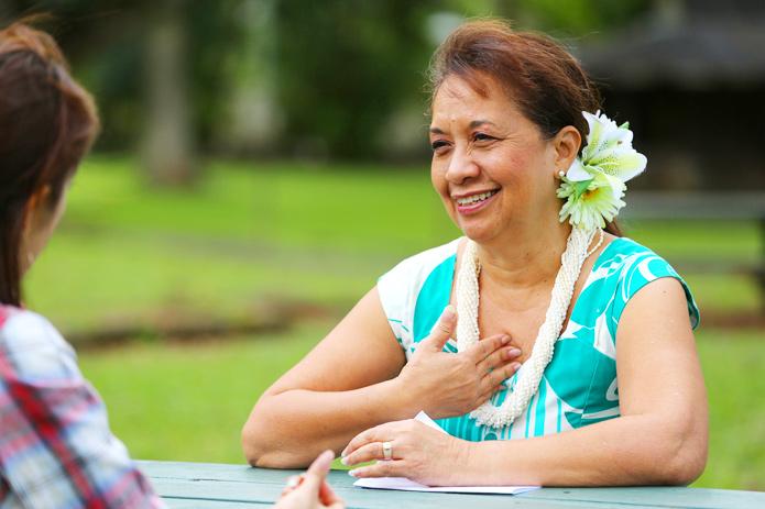 フラから学ぶハワイの心 vol.1ハワイ最古の教会で教えるクムフラに会う