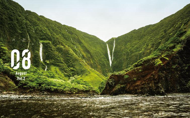 モロカイ島・ハラワ湾の絶景<br />手つかずの秘境へ疑似トリップ