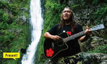 ナ・ホク・ハノハノ・アワードで脚光を浴びた<br />ミュージシャンがモロカイの心を唄う