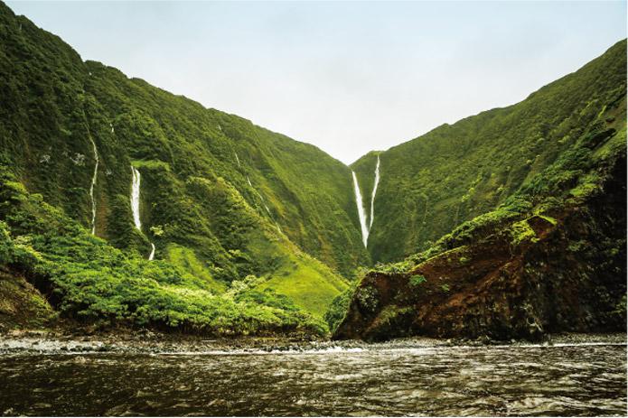 モロカイハラワ渓谷