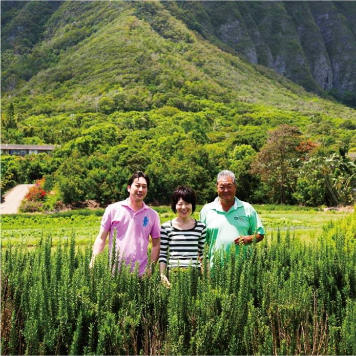 ハワイのおいしいを求めて。 栗原はるみさんがファームを訪ねました
