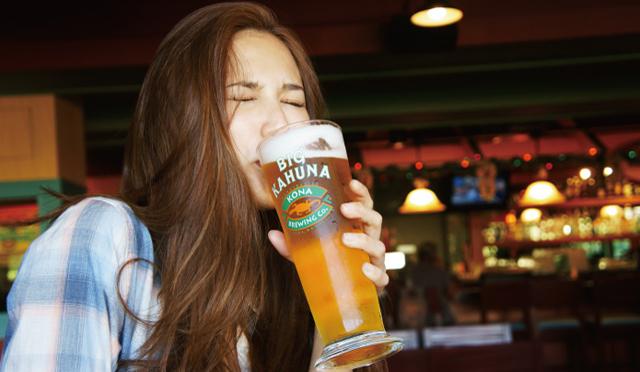 """ハワイの思い出を胸に…ホノルル空港で""""サヨナラビール"""""""