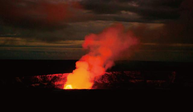 ハワイ島の息吹を感じる<br>キラウエア火山へ