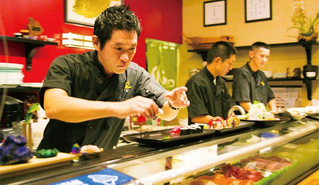 ハワイ島で一番美味い<br>海鮮和食「寿司 しおの」