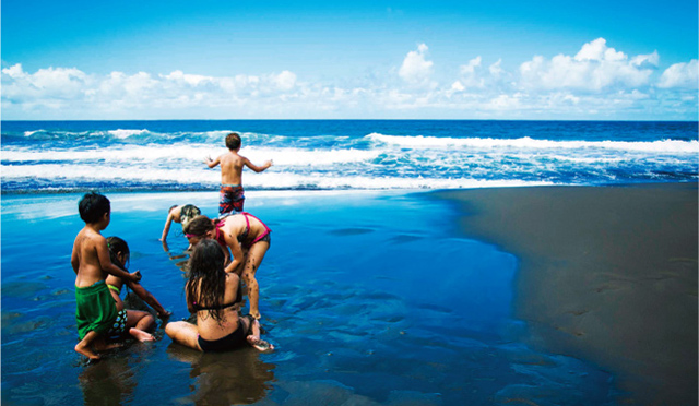 ハワイのビーチの概念が変わる!?