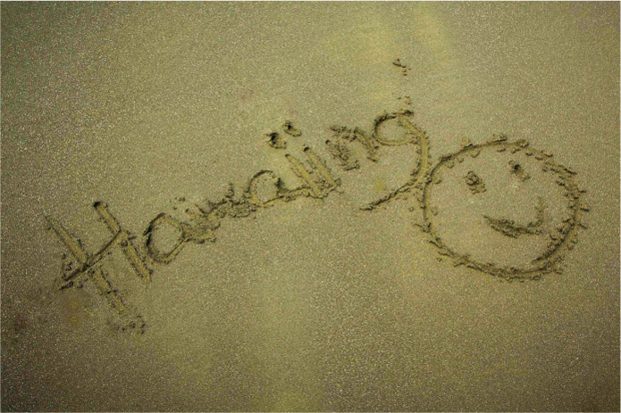 ディープブルーの海と漆黒の砂浜。ハワイのビーチの概念が変わる場所って?