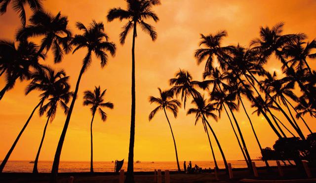 ハワイ島コナ&コハラのサンセット