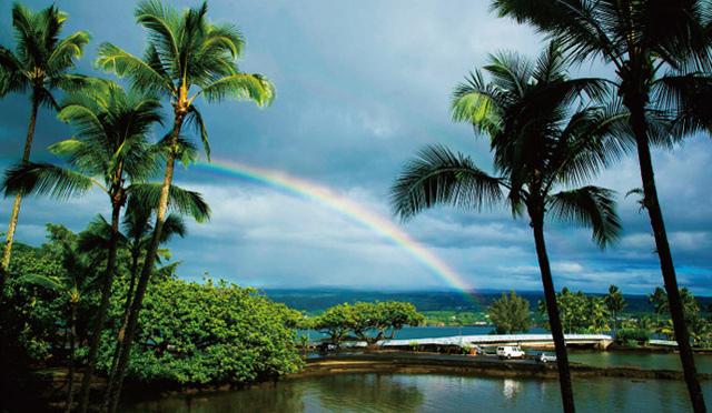 開運UPに効果的!? ハワイ島の虹