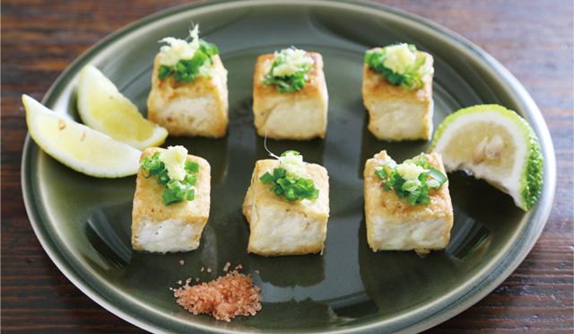 栗原はるみさん直伝レシピ[5]サイコロ豆腐ステーキ