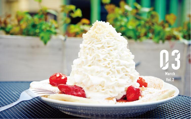 あなたはいくつ食べた?<br />ハワイを感じる東京パンケーキ図鑑⑥「エッグスンシングス」