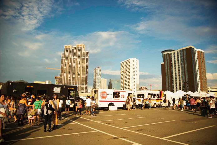 フードトラック祭り EAT THE STREET