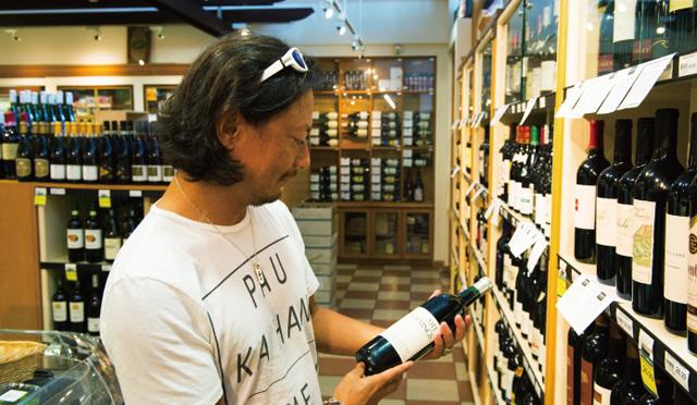 本田直之さんお気に入りワインショップ