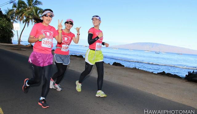 日本人参加者増加中「JTBマウイマラソン 2014」
