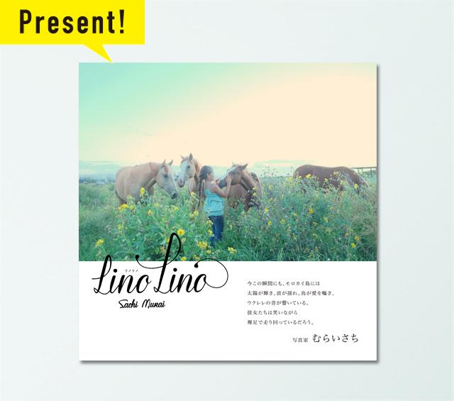 """""""うみカメラマン""""むらいさちさん待望の写真集 第2弾『LinoLino』発売!"""