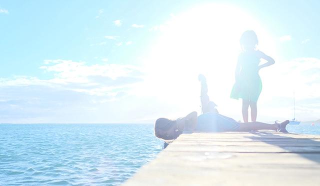 むらいさち×AO AQUA(Keiko) ~光り輝く島の話と歌~