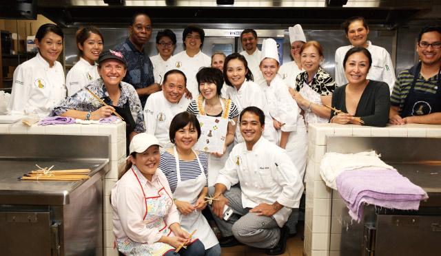 【速報!】栗原はるみさんが ハワイの料理学校で一日講師を行いました。