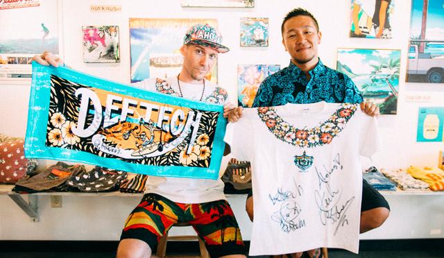 ハワイでDef Techが初ライブ!超レア!!直筆サイン入りグッズをプレゼント!