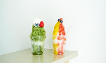 残暑の鎌倉で楽しみたい、<br />ハワイで人気のシェイブアイス店がオープン。
