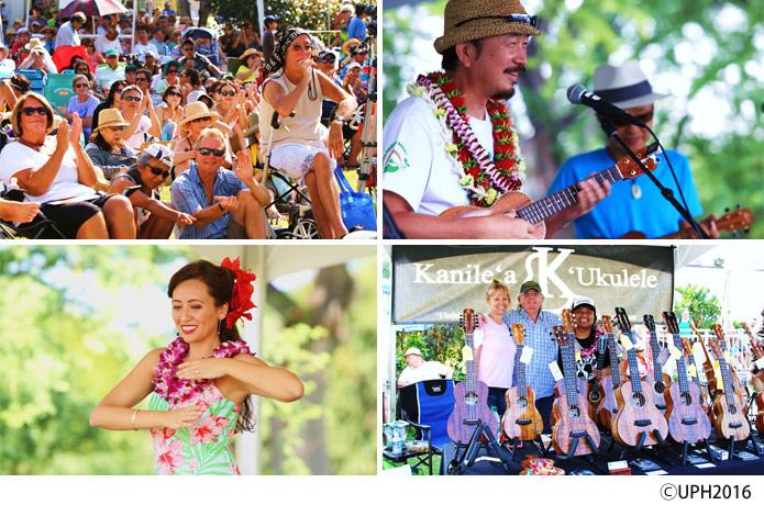 ウクレレ ピクニック イン ハワイ 2016