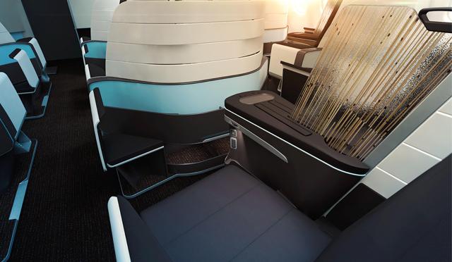 「ハワイアン航空」のビジネスクラスが変わる!快適性とデザイン性を追求したフルフラットシート導入