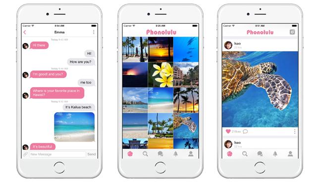 ハワイに特化した写真共有アプリ登場♪フォノルル(Phonolulu)で写真や情報をシェアしよう