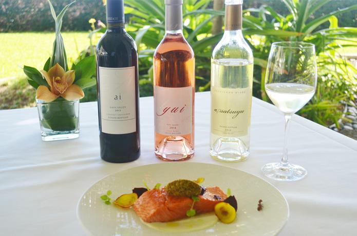 ハレクラニ メインダイニング「オーキッズ」ワインプロモーション ケンゾーエステイトワイン