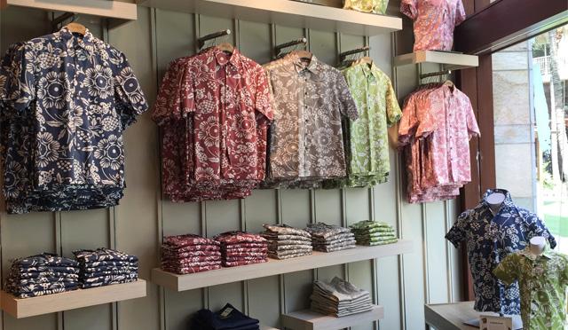 アロハシャツの老舗ショップがワイキキビーチウォークにOPEN!
