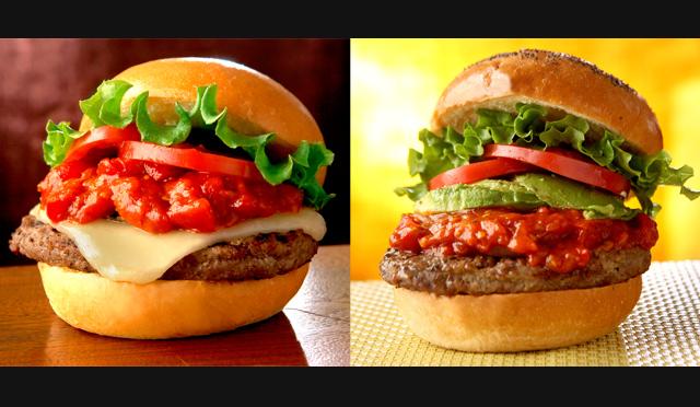『クア・アイナ』より夏限定バーガー2種類が新登場!トマトの旨みと特製ソースの相性抜群♪「スパイシーシリーズ」