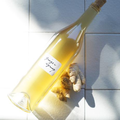 栗原はるみさん直伝レシピ[9] ハワイを思い出すジンジャーシロップ