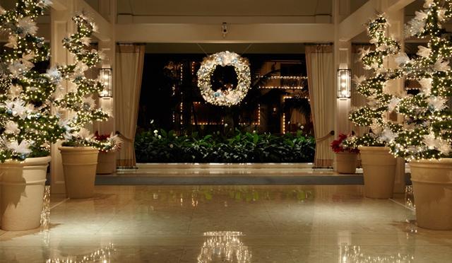 ハレクラニで華麗に祝うホリデーシーズン到来!エレガントなクリスマスをハワイで過ごしてみては?