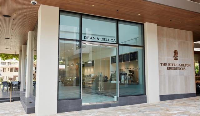 待望の『DEAN & DELUCA』ハワイ1号店ザ・リッツ・カールトン・レジデンス ワイキキ内にオープン!